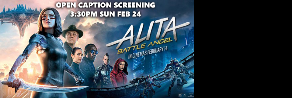 Alita: Battle Angel Open Captions