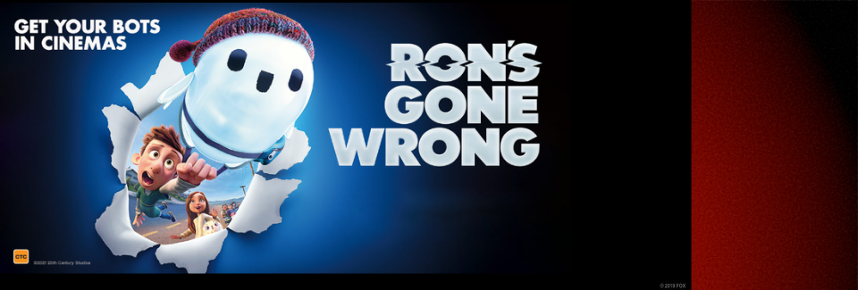 Ron's Gone Wrong coming soon