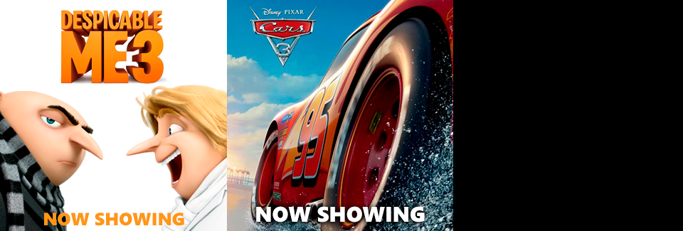 Despicable Me 3 & Cars 3