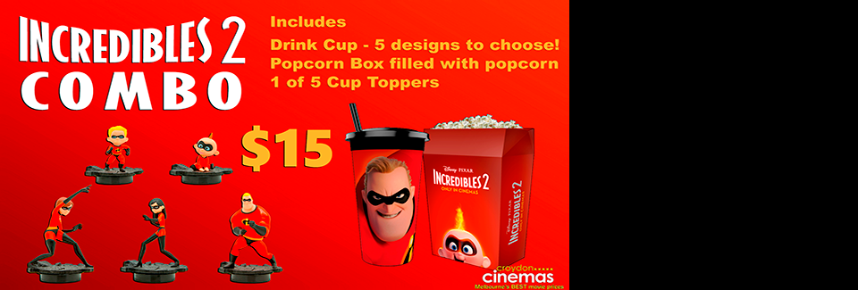 Incredibles 2 Combo