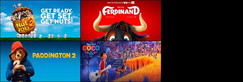 Kid's Films Now Showing