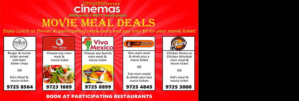 Movie Meal Deals