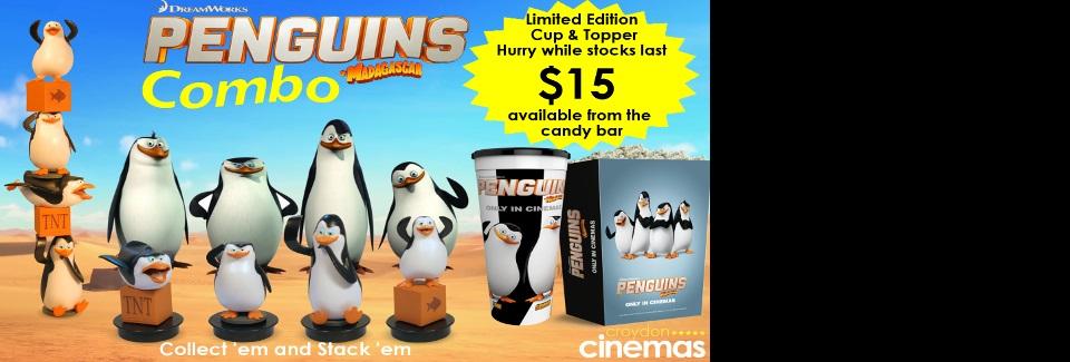 Penguins of Madagascar Combo