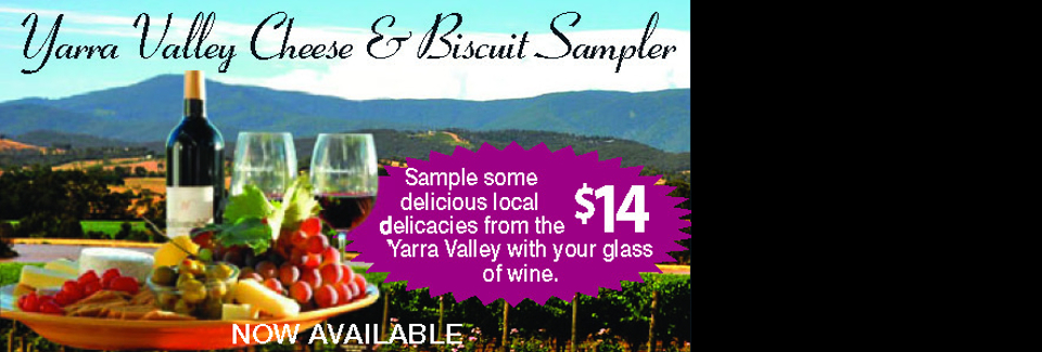 Yarra Valley Cheese and Biscuit Sampler