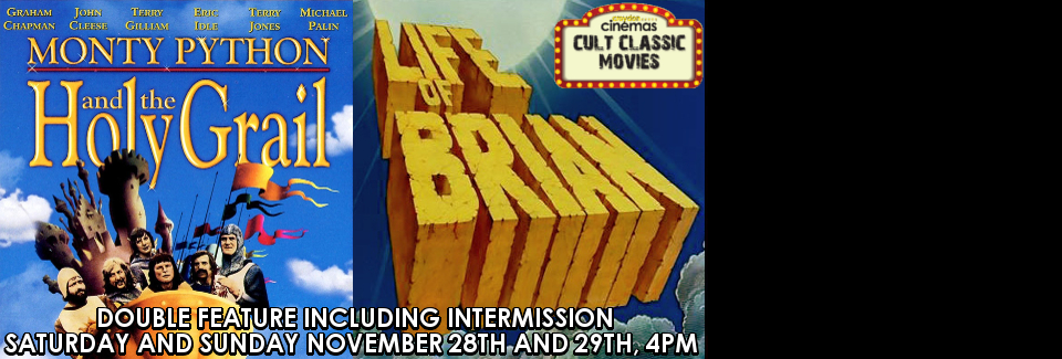 Cult Classics - Monty Python: The Holy Grail & Life of Brian DOUBLE FEATURE