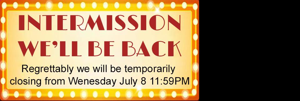 We'll be Back!